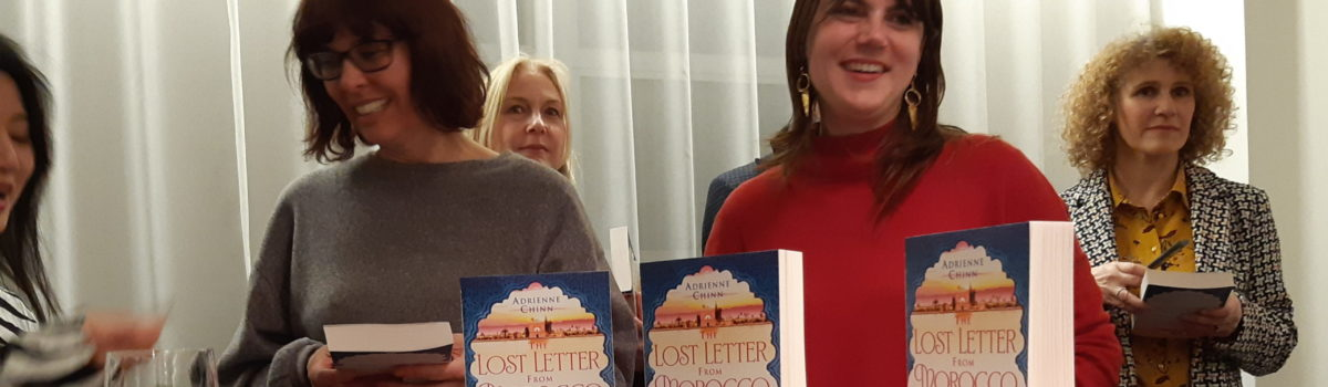 The Lost Letter From Morocco launch