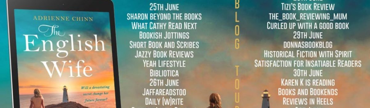 The English Wife is going on tour with Rachel's Random Resources